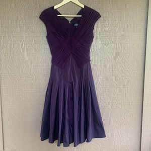 Adrianna Papell Knee Length Party Dress